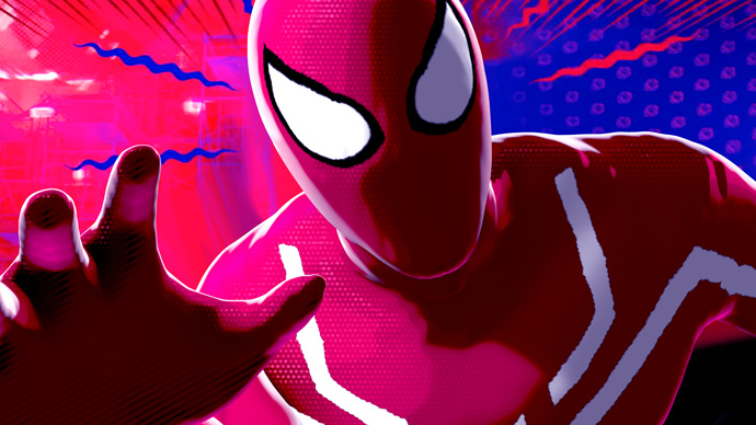 Spiderman Halftone Toon Shader for Maya and Arnold