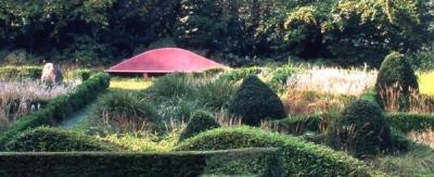 Grasses Parterre at Veddw House Garden
