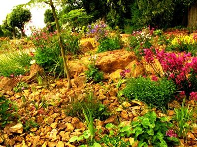 Rockery Hidcote copyright Anne Wareham, thinkingardens