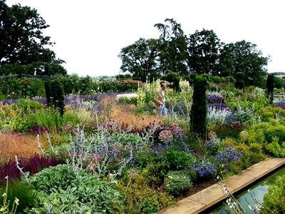 Broughton Grange, Walled Garden designed by Thomas Stuart-Smith, copyright Charles Hawes on thinkingardens