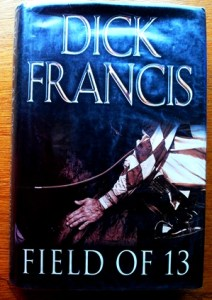 Dick Francis cover on thinkingardens 001