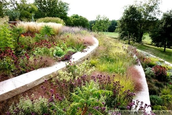The Jones Road garden designed by Adam Woodruff in Missouri. Copyright Adam Woodruff Associates
