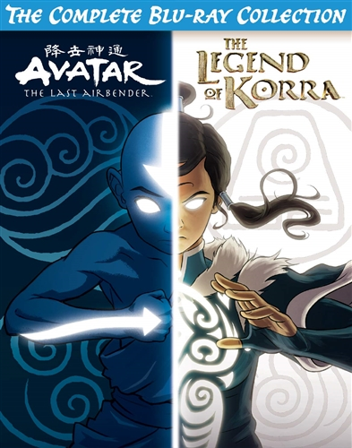 Avatar The Last Airbender Complete Series Blu Ray : avatar, airbender, complete, series, AVATAR, AIRBENDER, LEGEND, KORRA, COMPLETE, BLU-RAY, COLLECTION, 32429330031