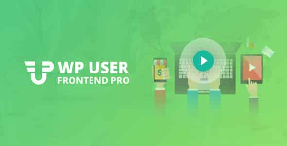 WP User Frontend Pro 340 Ultimate Frontend Solution For