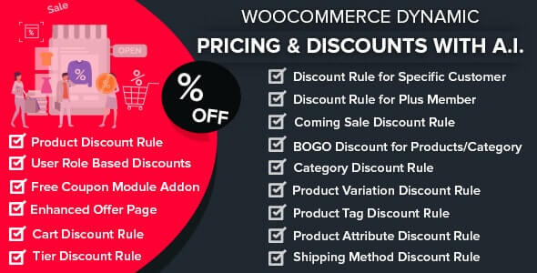 WooCommerce Dynamic Pricing Discounts with AI 160 Nulled