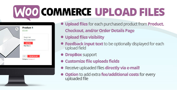 WooCommerce Upload Files 577 Nulled