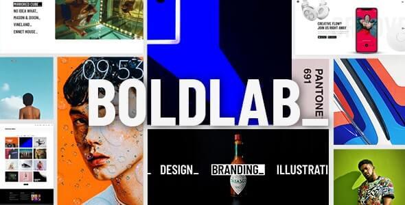 Boldlab 211 Creative Agency Wordpress Theme
