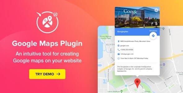 Google Maps 231 WordPress Map Plugin