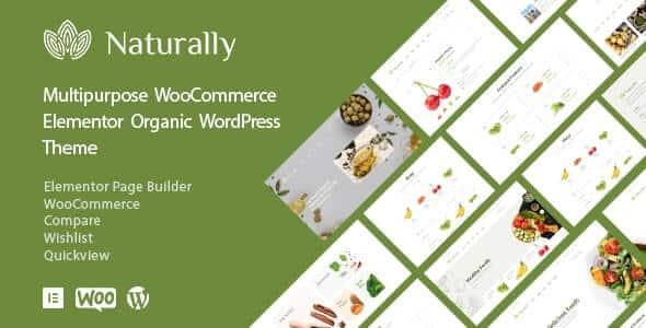 Naturally 123 Organic Food Market WooCommerce Theme