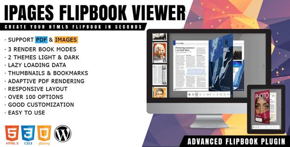 iPages Flipbook 139 PDF Viewer For WordPress Plugin