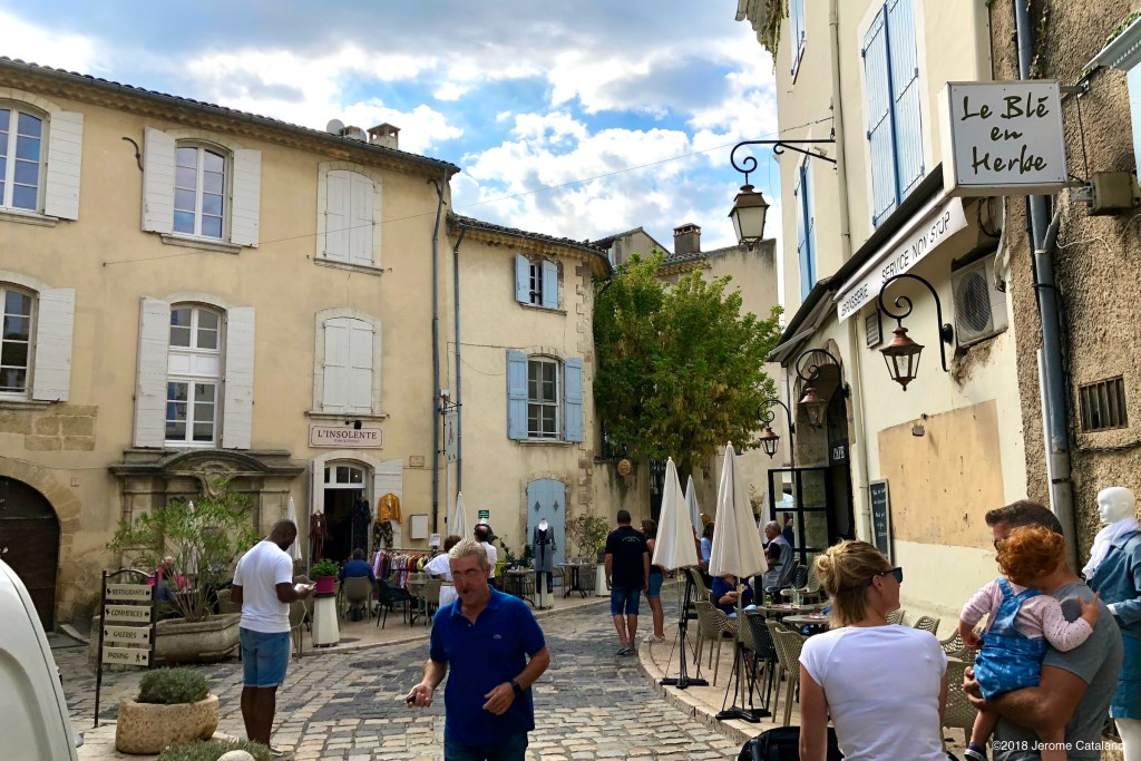 Place de la Fontaine in Lourmarin