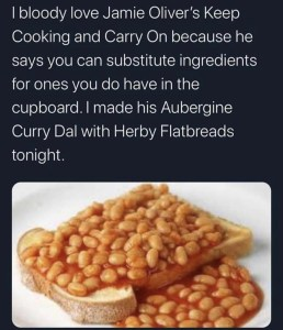 Curry Dal with Herby Flatbreads