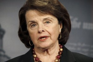 Senator Dianne Feinstein of California, sponsor of federal vaccine legislation