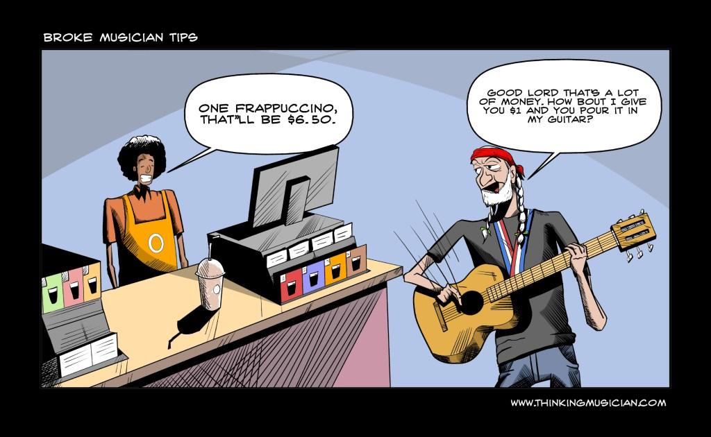 Broke Musician Tips