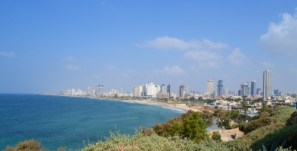 First photos of our journey in Israel, Tel Aviv