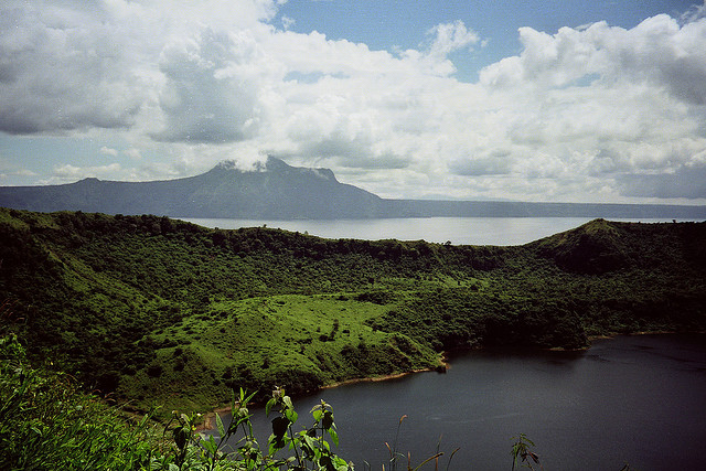 View from Mount Taal (photo by Carolyn Conner)