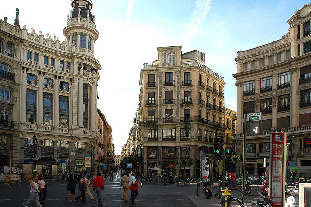Canalejas Square, Madrid (photo by Doug)