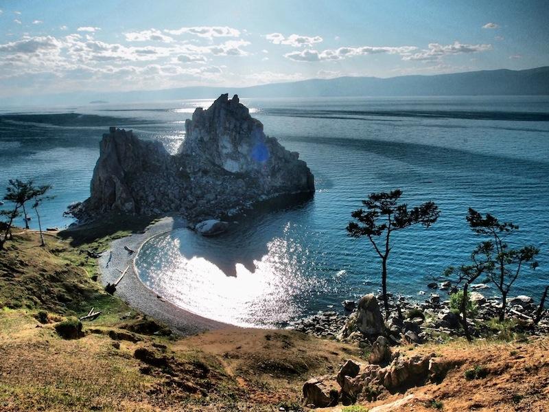 Cape Burkhan - Olkhon Island, lake Baikal (Russia)