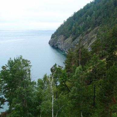 trekking route, lake Baikal - Russia
