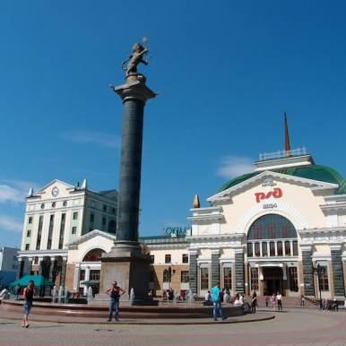 Krasnoyarsk - Trans-Siberian Railway