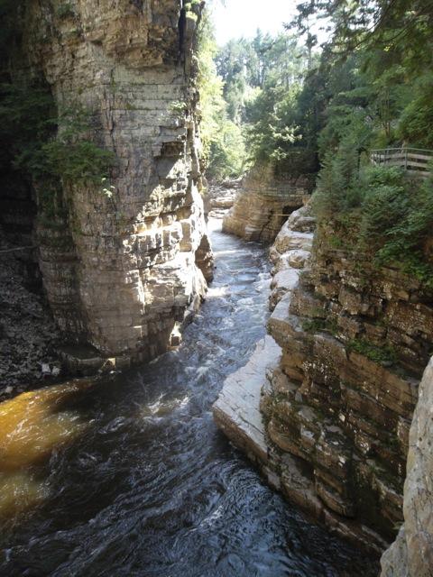 Ausable Chasm, Adirondack Park - New York, USA