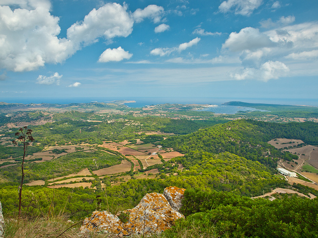 View from Monte Toro - Menorca, Spain