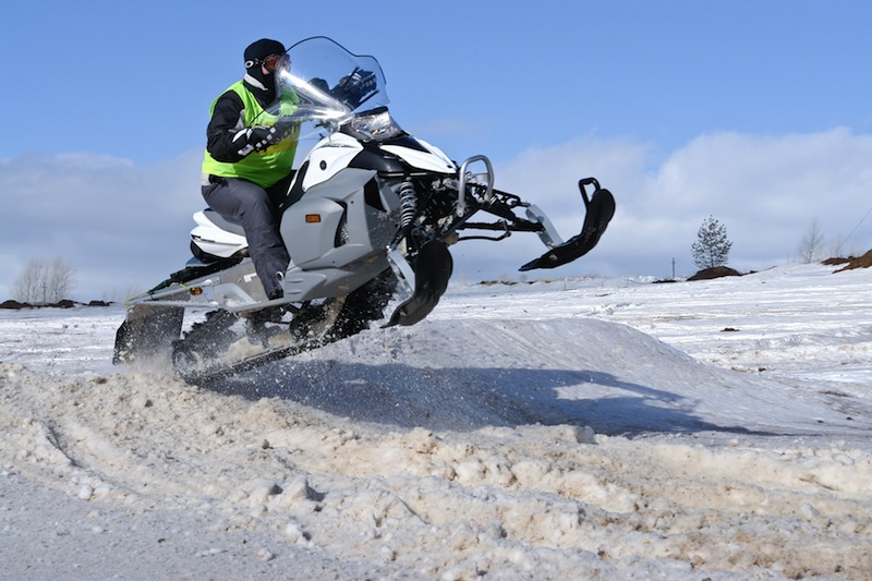 snowmobile - Iceland