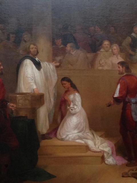 Baptism of Pocahontas, John Chapman - Capitol, Washington DC, USA