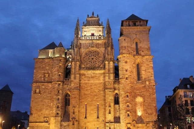 Cathedral - Rodez, Aveyron, France