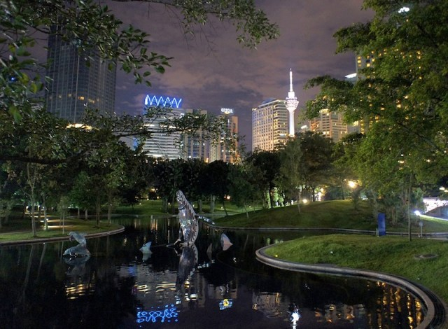 KLCC Park - Kuala Lumpur, Malaysia