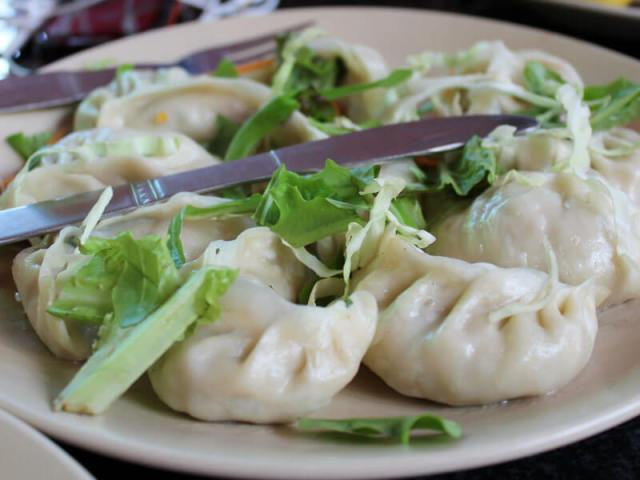 Veg Momo - Vegan in Nepal
