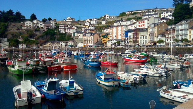 The pretty Luarca is one of the nicest villages in the Asturias