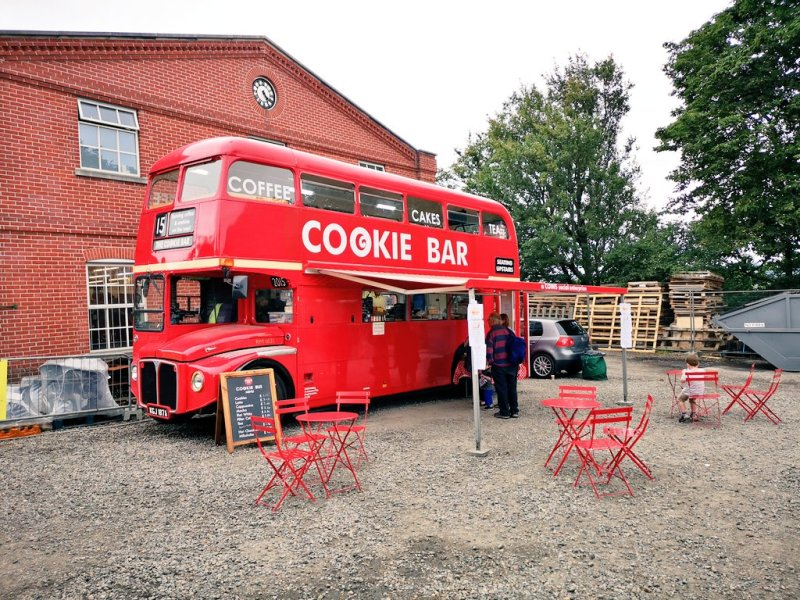 cookie bar bus