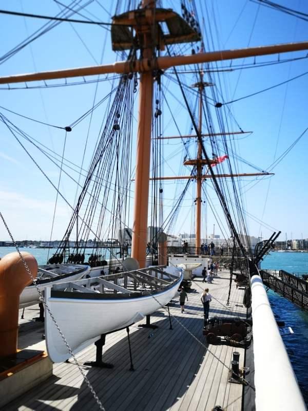 The HMS Warrior
