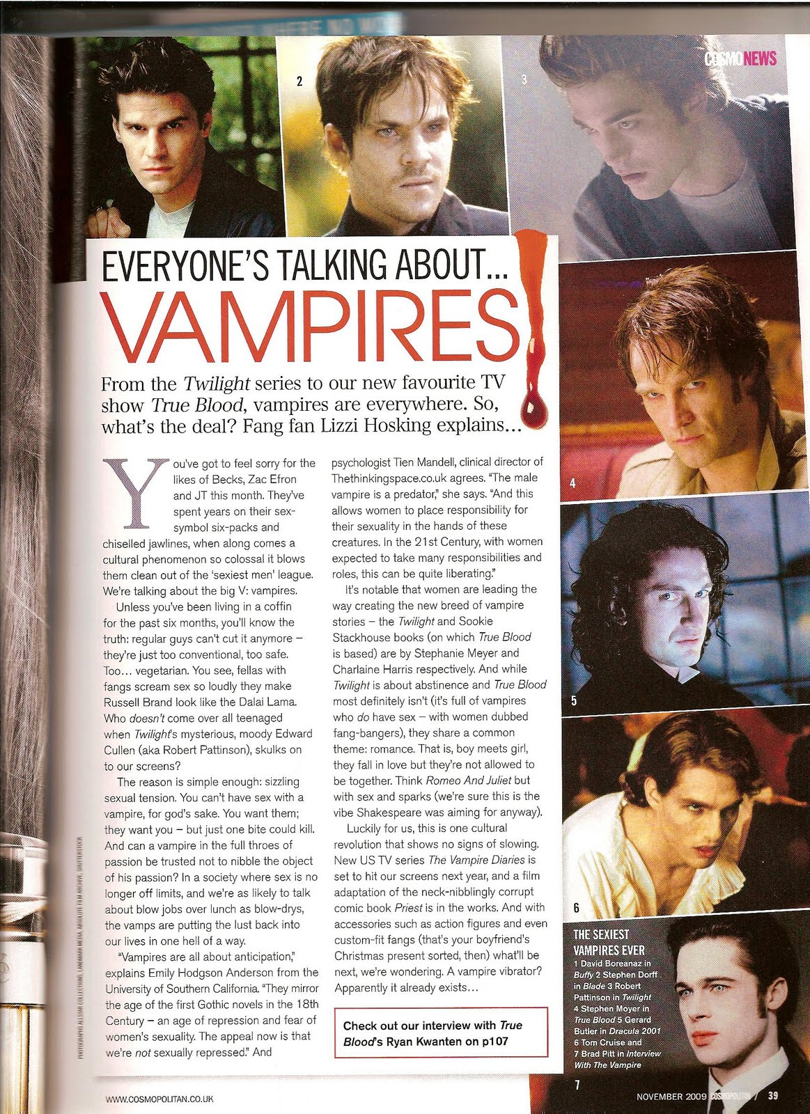vamps in mags