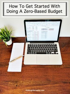 How To Get Started With Doing A Zero-Based Budget