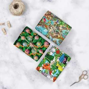 Mixed Gift Wrap x 3 sheets