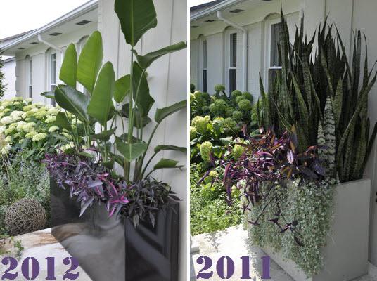 Door Planters Ideas & Tall Antique Bronze Flower Planter