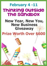 Thinking Outside The Sandbox New Year Giveaway