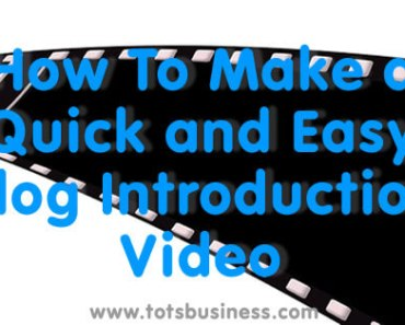How To Make A Quick And Easy Vlog Introduction