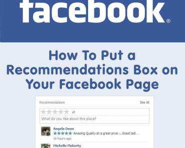 How To Put A Recommendations Box On A Facebook Business Page