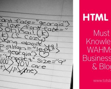 Must Know HTML Basics