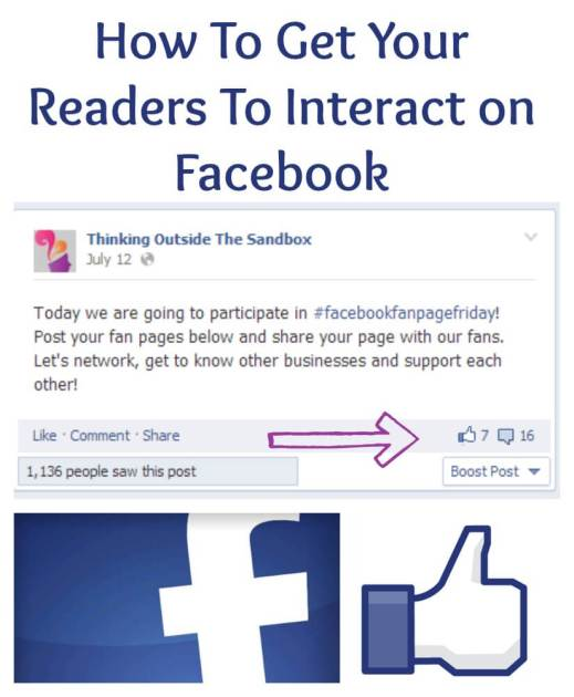 How To Get Your Readers To Interact on Facebook