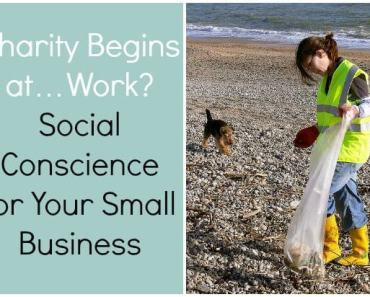 Charity Begins at Work Social Conscience for Your Small Business