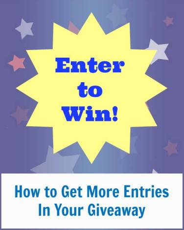 How to Get More Entries in Your Giveaway
