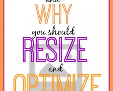Why should you resize and compress your images (or optimize them). Find out why and how! It's not that hard!