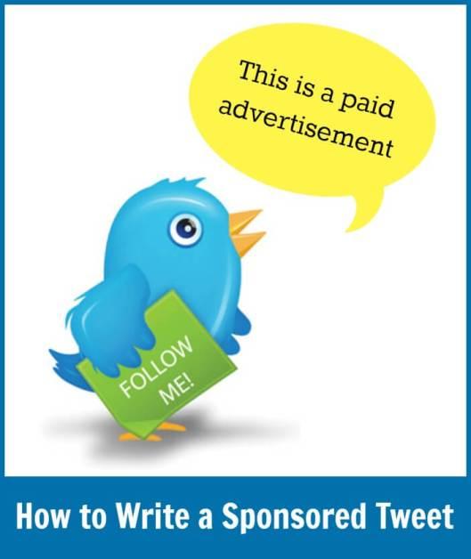 How To Write a Sponsored Tweet