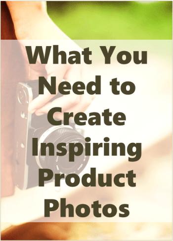 create inspiring product photos