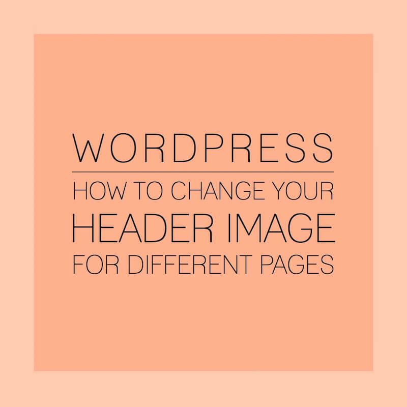 Wordpress Header