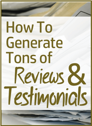 how to generate tons of testimonials